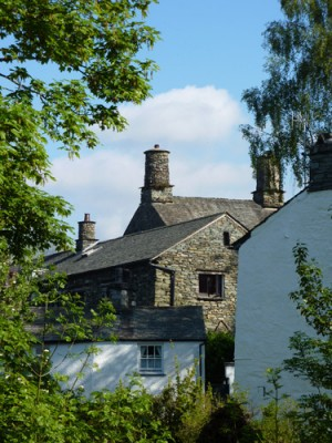 How Head Barn from Stock Ghyll Lane