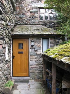 Front door to How Head Barn.